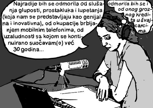 DOŽIVOTNA SLOBODA: Tamara Vučenović