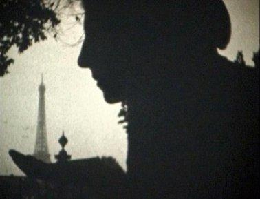 Jasna Tijardović u regular 8 mm filmu Zorana Popovića, Pariz 1968.