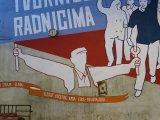Mural kao deo radničke borbe