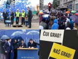 Temeljac Beograda na vodi, uz proteste