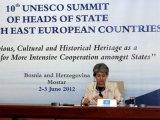 Bokova: Potrebna globalna promena pristupa kulturi