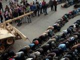 I umetnici na protestu u Kairu