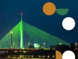 Most na Adi u zelenom, u čast Svetog Patrika