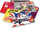 I Sex Pistols kreditne kartice