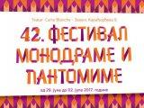 42. Festival monodrame i pantomime