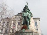 Ljubljana, Presernov spomenik