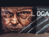Omaž Vulverinu u vidu murala