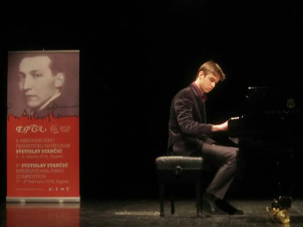 Aleksandar Raos nagrađen na takmičenju Svetislav Stančić