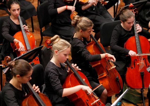 Jubilarni Novogodišnji koncert Dečje filharmonije