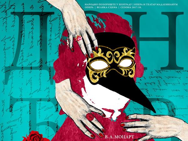 Nova verzija opere Don Đovani u Narodnom pozorištu