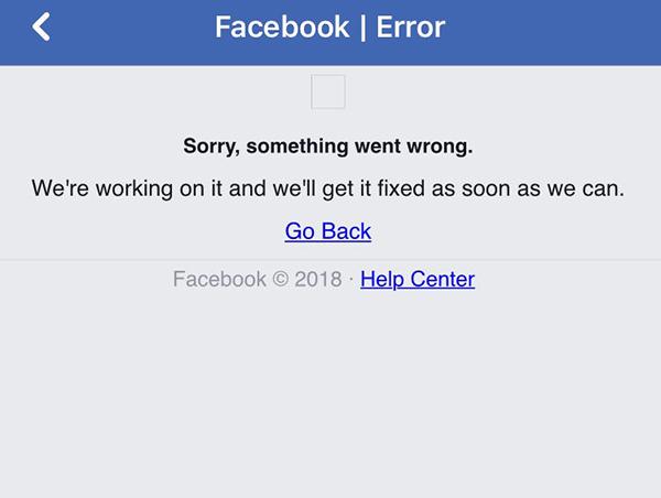 Opet problemi s Fejsbukom