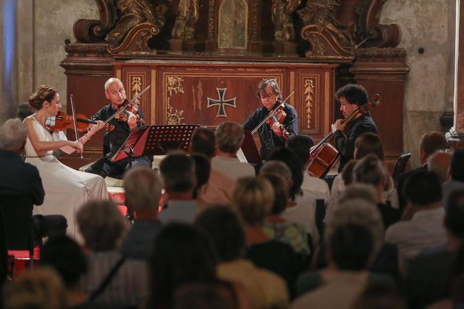 Gudački kvartet BGF na 65. Ljubljana festivalu