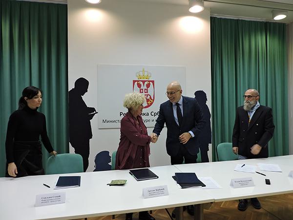 Potpisan Poseban kolektivni ugovor za ustanove kulture