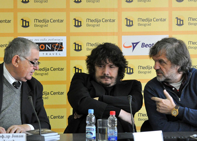 Dobitnici nagrade Ivo Andrić Bora Đorđević i Ju Hua