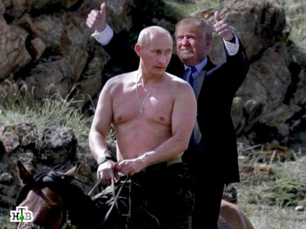 Trampov dolazak na vlast iz ugla ruskih medija