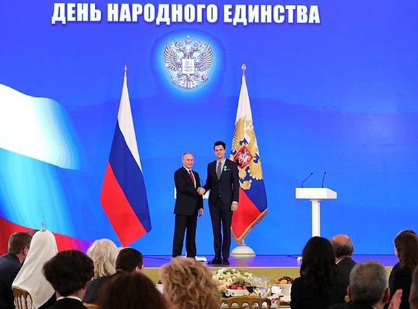 Putin odlikovao Bikovića