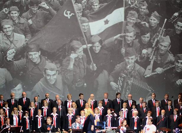 Horski u slavu antifašizma